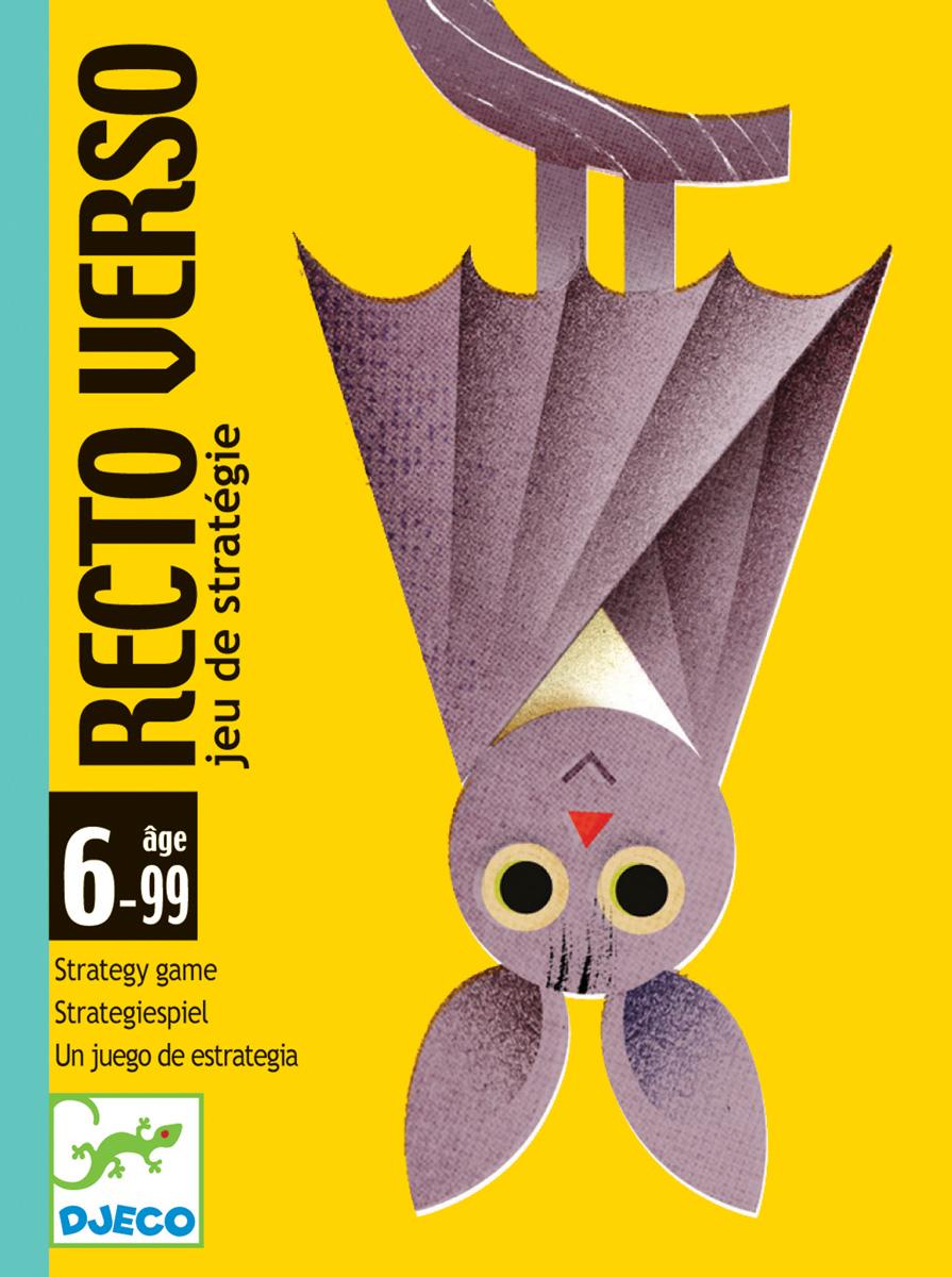 Djeco Настольная карточная игра Ректо Версо настольные игры djeco настольная карточная игра занимач