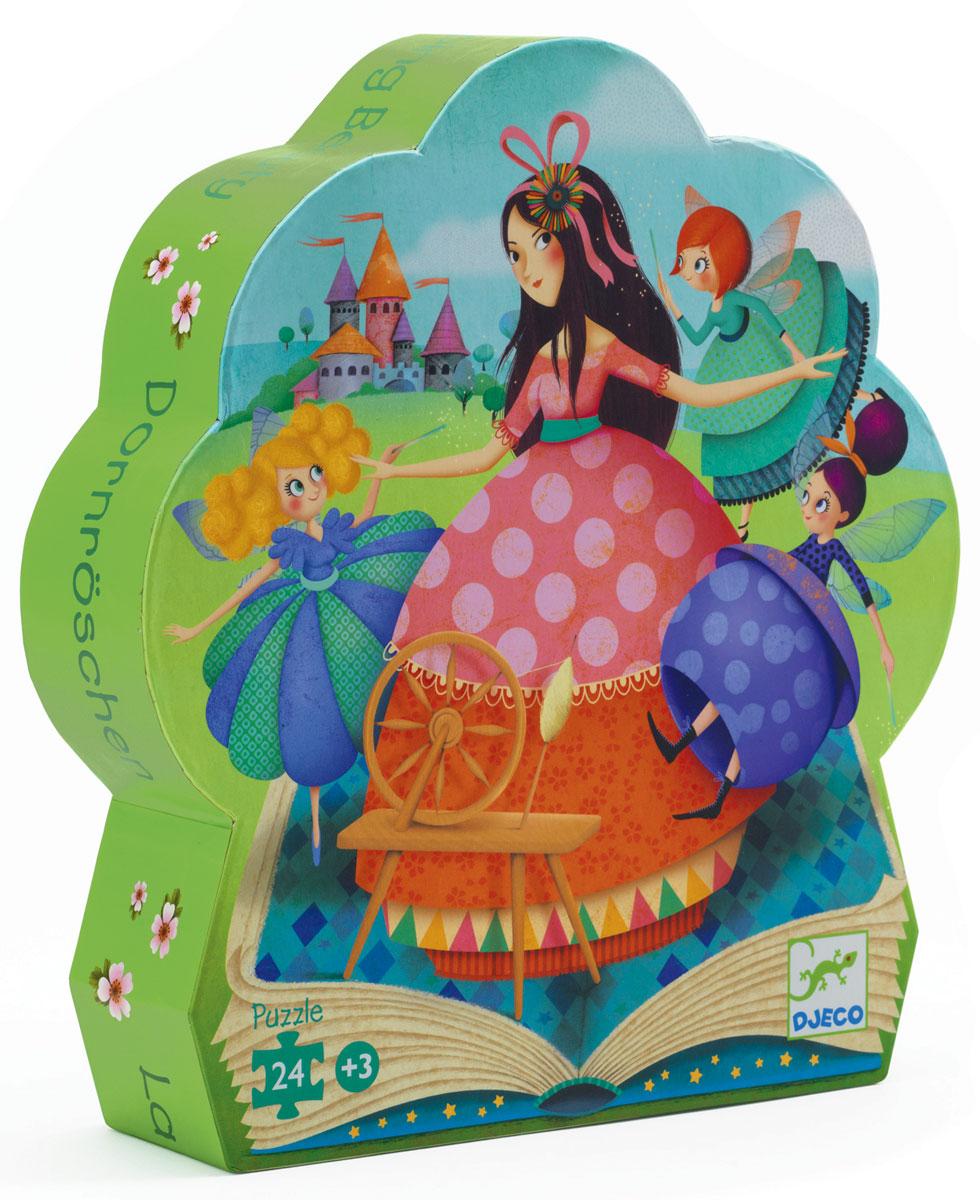 Djeco Пазл для малышей Спящая красавица сувенир закладка спящая красавица набор 7 штук