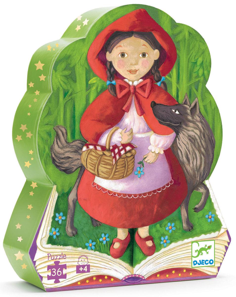Djeco Пазл для малышей Красная шапочка djeco пазл для малышей лесные животные