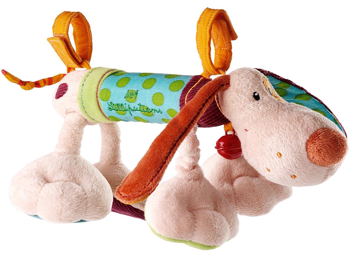 Lilliputiens Развивающая игрушка Собачка Джеф lilliputiens интерактивная развивающая книжка игрушка курочка офелия