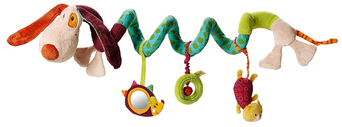 Lilliputiens Подвес спиральный Собачка Джеф lilliputiens игрушка собачка джеф