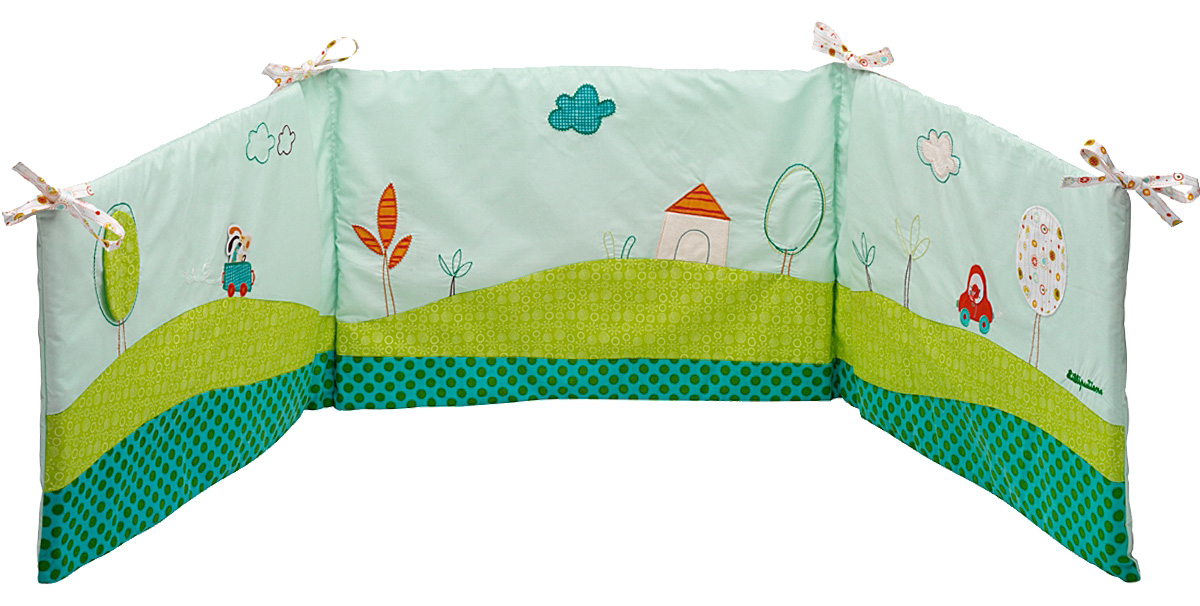 Lilliputiens Бампер на кроватку Собачка Джеф - Детская комната