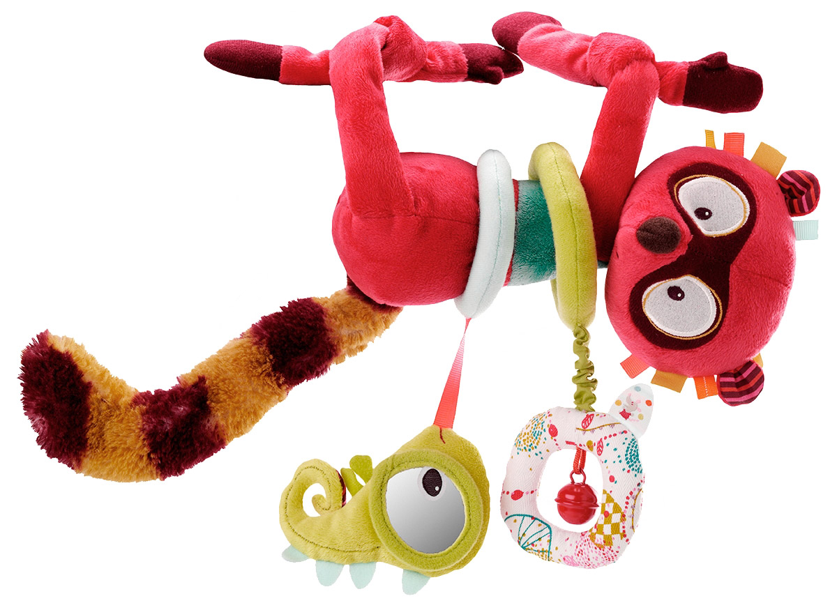Lilliputiens Развивающая игрушка Лемур Джордж lilliputiens курочка офелия музыкальная игрушка