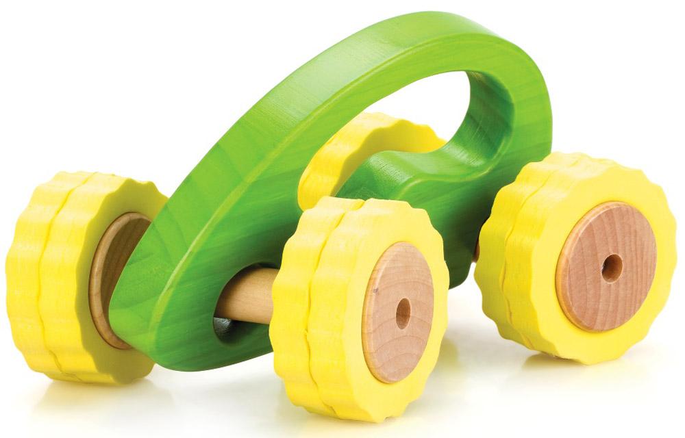 Lucy&Leo Машинка Роли-Поли цвет желтый зеленый lucy&leo сортер занимательная коробка