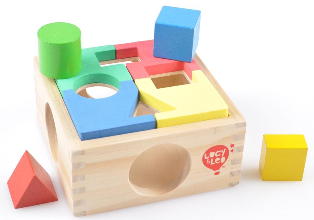 Lucy&Leo Сортер Занимательная коробка