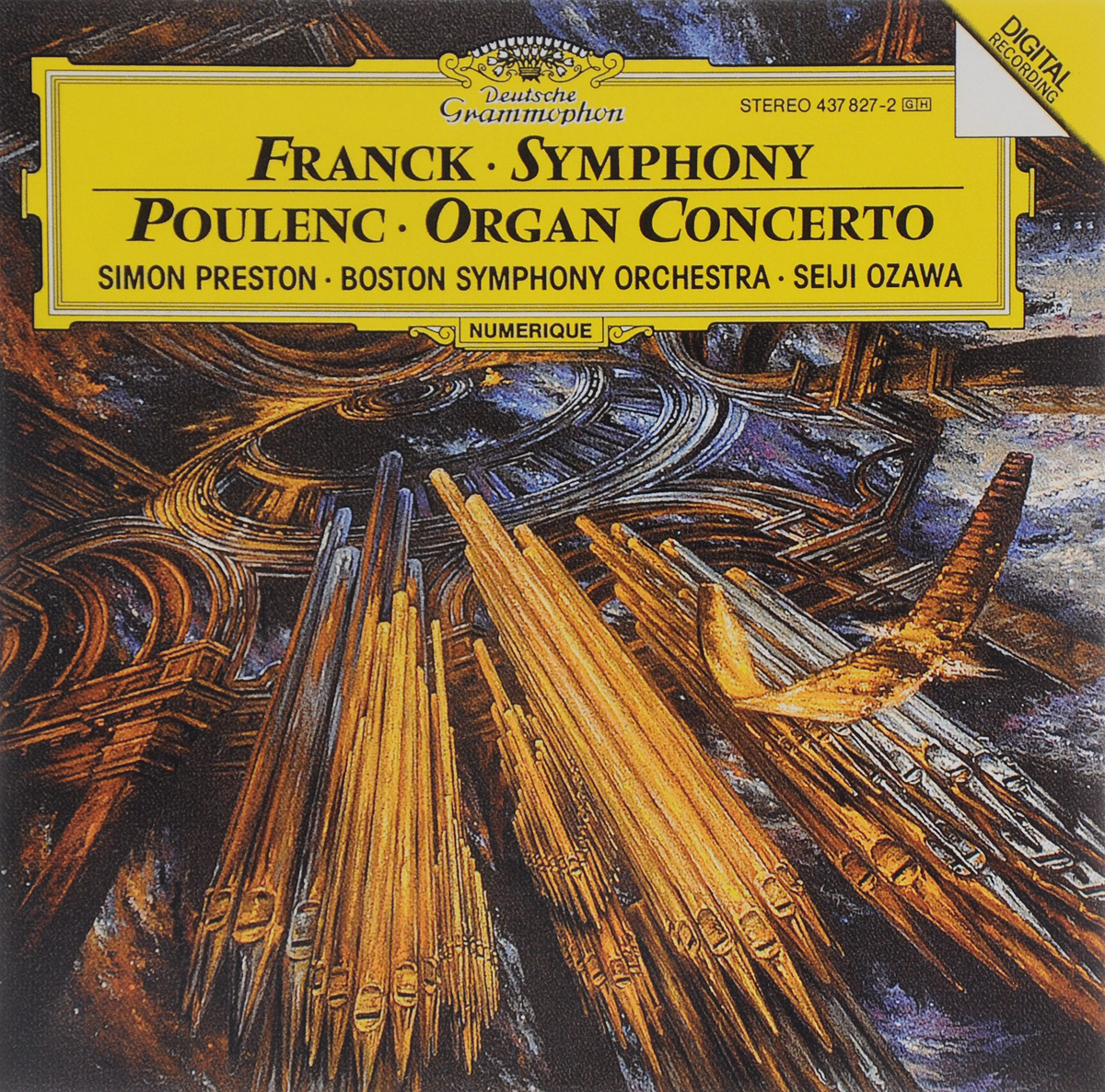 Сейджи Озава,Boston Symphony Orchestra Seiji Ozawa. Franck. Symphony / Poulenc. Organ Concerto сейджи озава михаил плетнев boston symphony orchestra русский национальный оркестр seiji ozawa mikhail pletnev tchaikovsky complete recordings collectors edition 5 cd