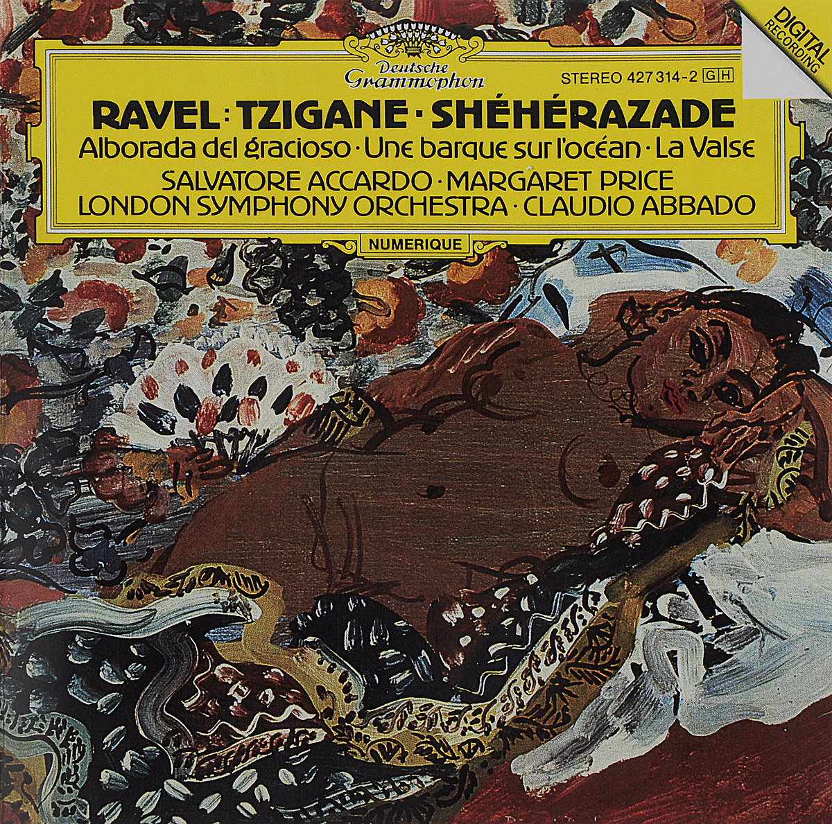The London Symphony Orchestra,Клаудио Аббадо,Сальваторе Аккардо,Маргарет Прайс Claudio Abbado. Ravel. Tzigane / Sheherazade / La Valse claudio abbado sting prokofiev peter and the wolf