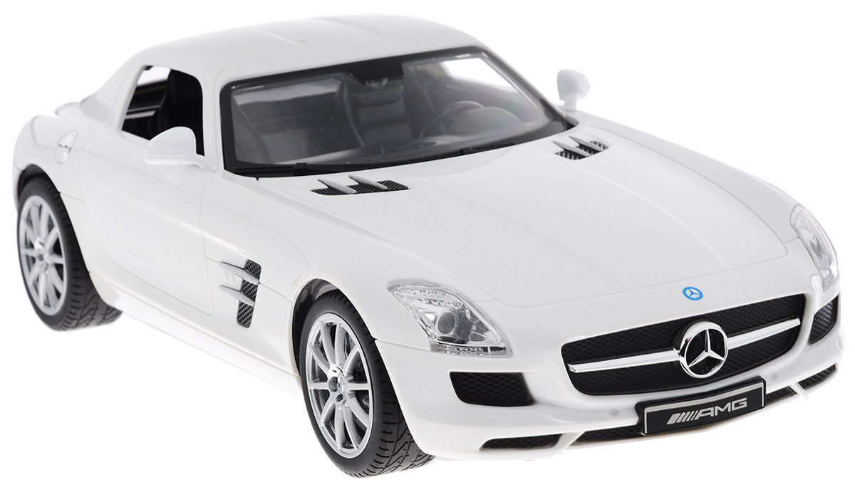 TopGear Радиоуправляемая модель Mercedes-Benz SLS AMG цвет белый самокат topgear отзывы