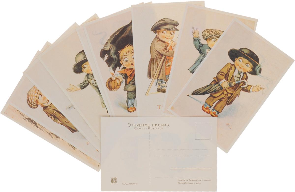изображение набор старинных открыток сожалению