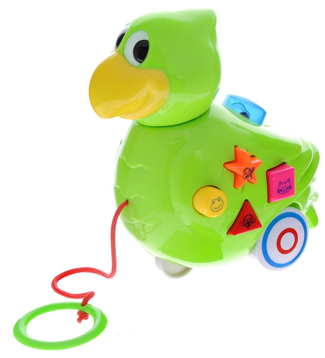 Mommy Love Игрушка-каталка Птичка строительный фен bosch phg 630 dce 060329c708