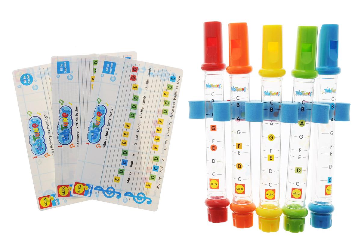 Alex Toys Игрушка для ванной Водяные флейты игрушка для ванной alex alex игрушка для ванной черепашка