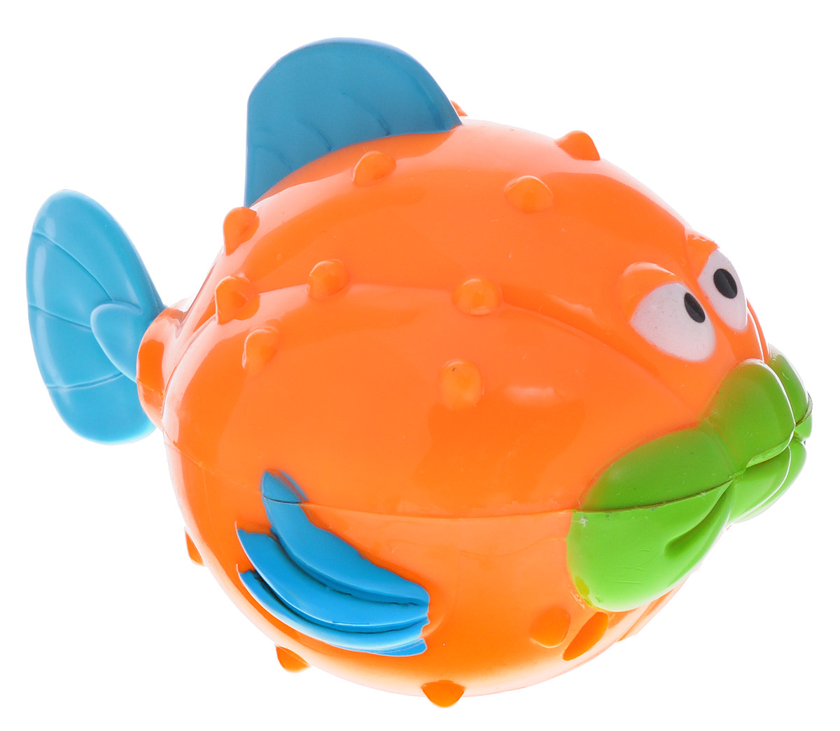 Alex Toys Игрушка для ванной Рыба-ёж чтение про себя у школьников с особенностями зрительного восприятия