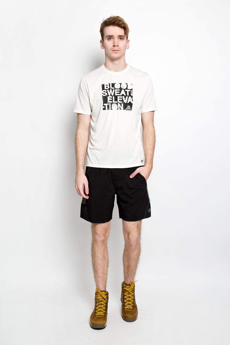 Футболка для фитнеса мужская The North Face M MA GRP Reax AMP, цвет: белый. T0CE0PEY8. Размер XL (50/52) цена 2017