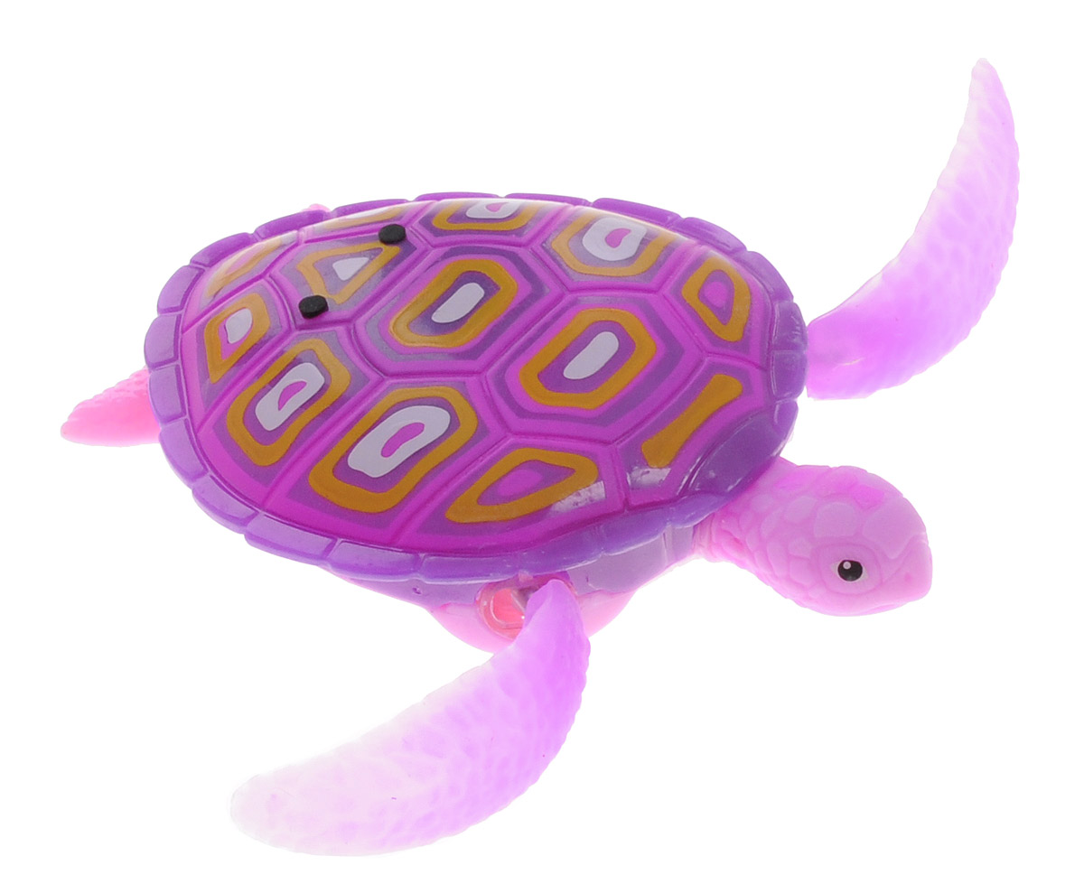 Robofish Интерактивная игрушка РобоЧерепашка цвет розовый купить туалетную воду муж