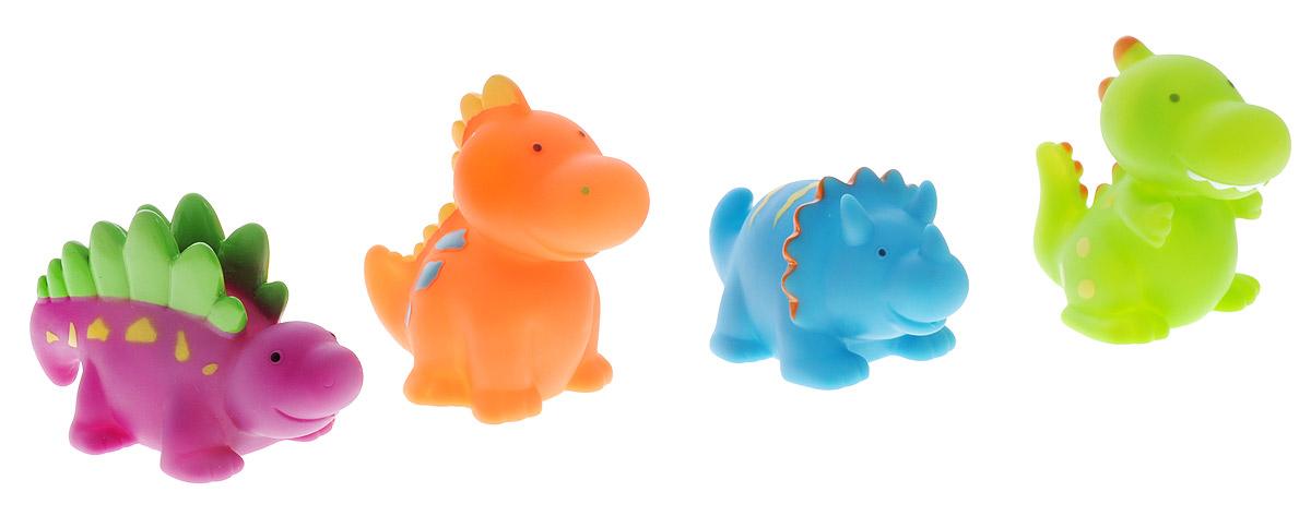 Alex Toys Набор игрушек для ванной Динозаврики 4 шт alex toys набор игрушек для ванной уточки 3 шт