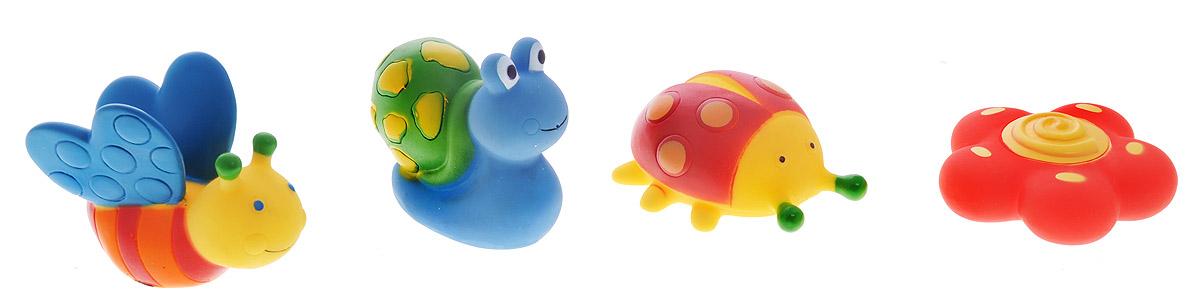 Alex Toys Набор игрушек для ванной Сад 4 шт alex toys набор игрушек для ванной уточки 3 шт