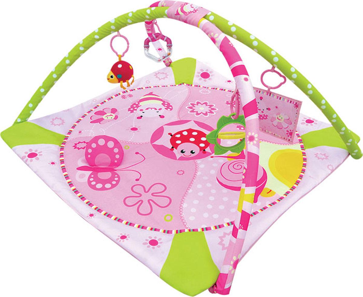 Balio Развивающий коврик цвет розовый - Игрушки для малышей