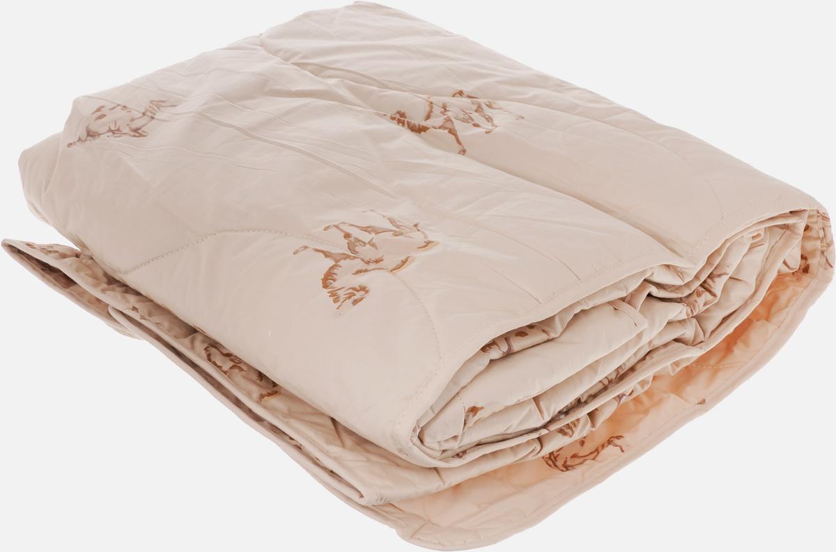 Одеяло легкое Легкие Сны Верби, наполнитель: верблюжья шерсть, 140 x 205 см140(30)02-ВШОЛегкое стеганое одеяло Легкие Сны Верби поможет расслабиться, снимет усталость и подарит вам спокойный и здоровый сон.Верблюжья шерсть является прекрасным изолятором и широко используется как наполнитель для постельных принадлежностей. Шерсть обладает отличными согревающими свойствами и способна быстро поглощать влагу, поэтому производимое верблюжьей шерстью целебное тепло называют сухим. Чехол одеяла выполнен из прочного тика с рисунком в виде верблюдов. Это натуральная хлопчатобумажная ткань, отличающаяся высокой плотностью, она устойчива к проколам и разрывам, а также отличается долговечностью в использовании. Чехол приятен к телу и надежно удерживает наполнитель внутри одеяла. По краю одеяла выполнена отделка атласным кантом. Рекомендуется химчистка. Степень поддержки: средняя.