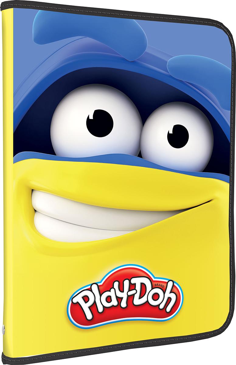 Play-Doh Папка на молнии формат А4 цвет желтый синий