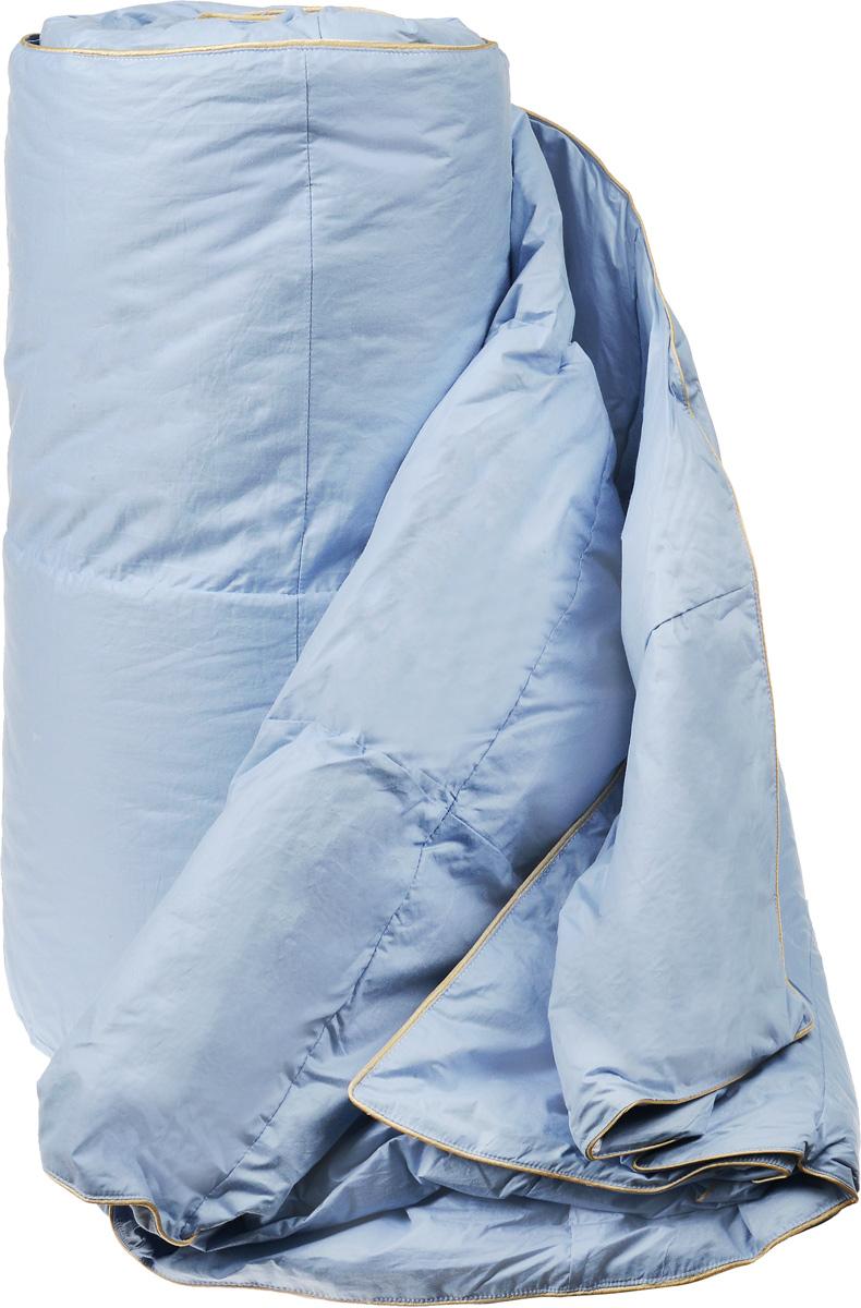 Одеяло легкое Легкие сны Камелия, наполнитель: гусиный пух, 172 х 205 см одеяло легкое легкие сны золотое руно наполнитель овечья шерсть 140 x 205 см