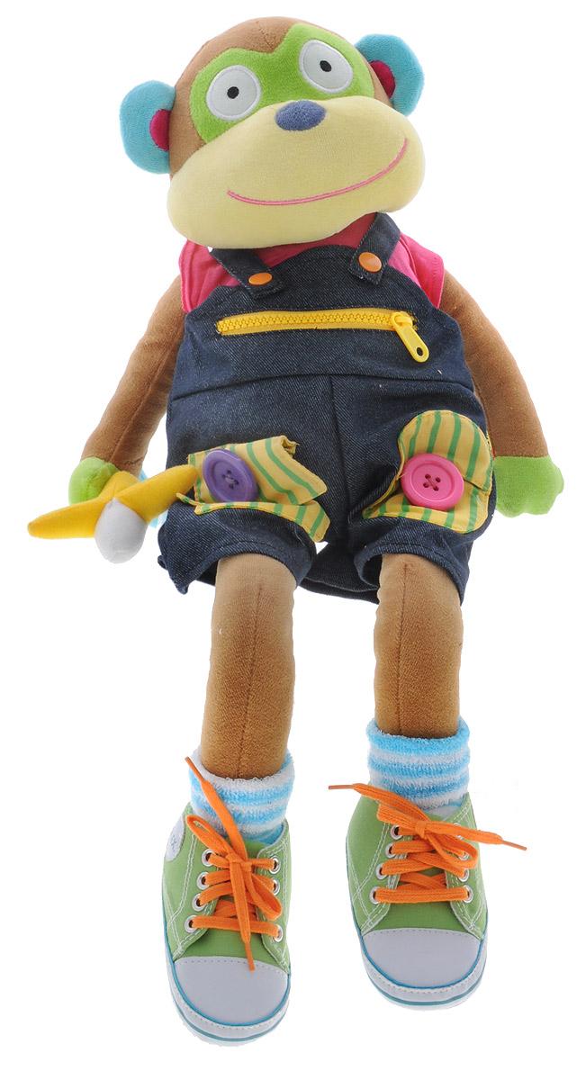 Alex Toys Развивающая игрушка Учимся одеваться с обезьянкой