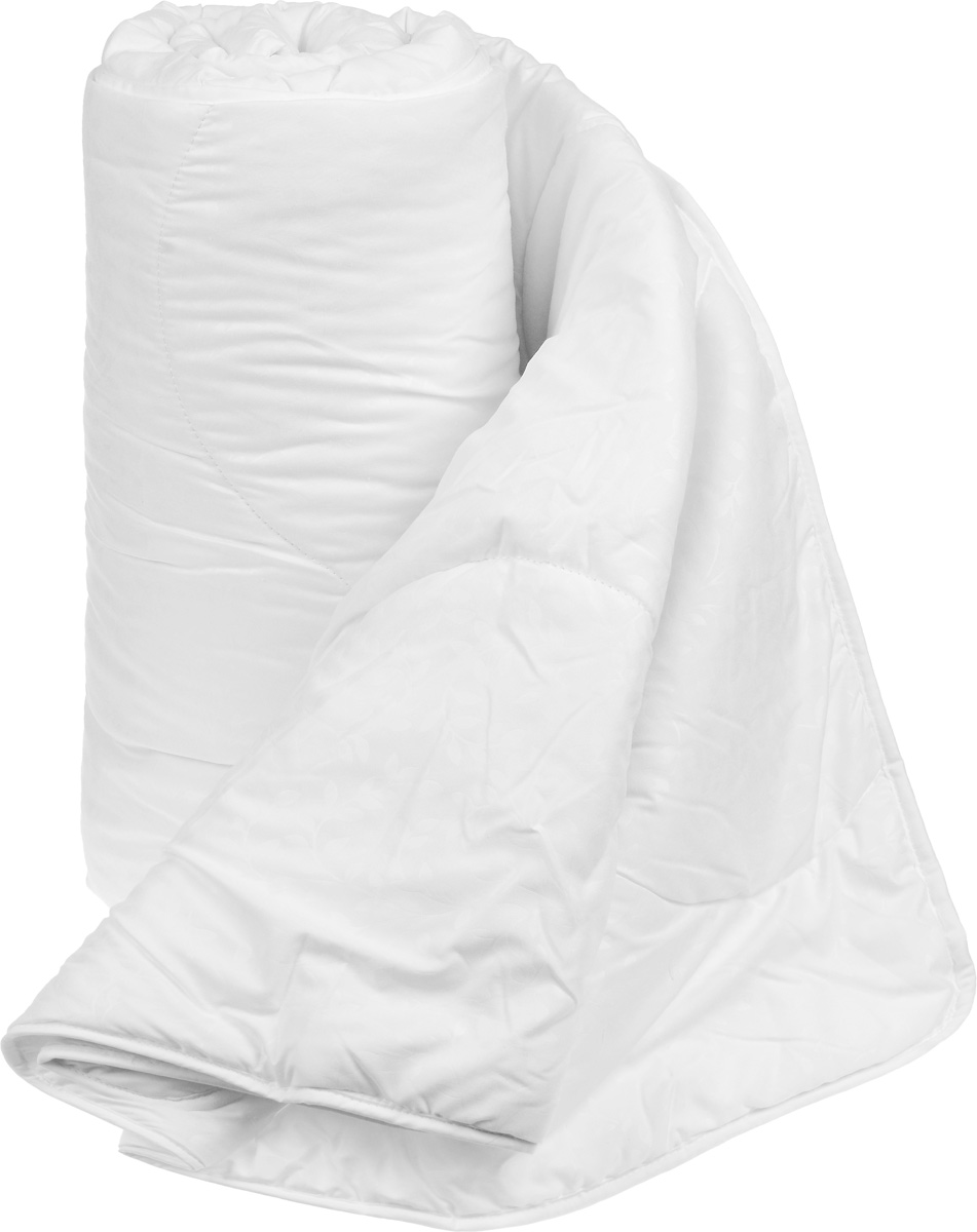 Одеяло легкое Легкие сны Перси, наполнитель: лебяжий пух, 172 х 205 см172(42)07-ЛПОЛегкое одеяло Легкие сны Перси поможет расслабиться, снимет усталость и подарит вам спокойный и здоровый сон. Полиэфирное высокосиликонизированное микроволокно лебяжий пух - это искусственный аналог натурального лебяжьего пуха. По потребительским свойствам он не отличается от своего натурального аналога, он такой же легкий, пышный и теплый. Чехол одеяла, выполненный из микрофибры (100% хлопок), оформлен тиснением в виде красивых узоров. Одеяло простегано. Стежка надежно удерживает наполнитель внутри и не позволяет ему скатываться.Одеяло Легкие сны Перси - идеальный выбор для спальни в светлых тонах.Можно стирать в стиральной машине.