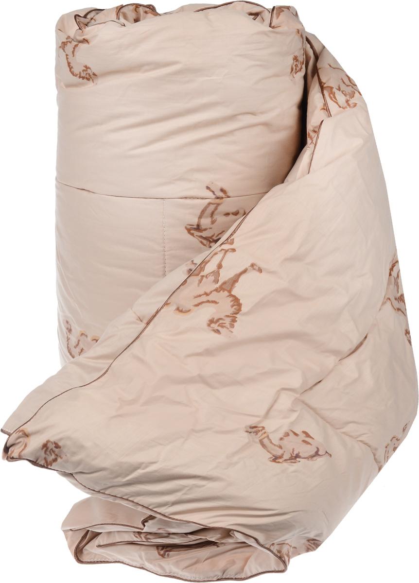 Одеяло теплое Легкие сны Верби, наполнитель: верблюжья шерсть, 200 х 220 см200(30)02-ВШТеплое одеяло размера евро Легкие сны Верби поможет расслабиться, снимет усталость и подарит вам спокойный и здоровый сон.Верблюжья шерсть является прекрасным изолятором и широко используется как наполнитель для постельных принадлежностей. Одеяла из нее отличаются хорошей воздухопроницаемостью и способностью быстро поглощать излишнюю влагу. Они позволяют коже дышать, поддерживают постоянную температуру тела, обеспечивая здоровый и комфортный сон. Кассетное распределение наполнителя способствует сохранению формы и воздушности изделия.Чехол одеяла выполнен из прочного тика с рисунком в виде верблюдов. Это натуральная хлопчатобумажная ткань, отличающаяся высокой плотностью, она устойчива к проколам и разрывам, а также отличается долговечностью в использовании. По краю одеяла выполнена отделка атласным кантом коричневого цвета.Под нежным, мягким и теплым одеялом вам приснятся только сказочные сны.Рекомендуется химчистка.Плотность наполнителя: 300 г/м2.