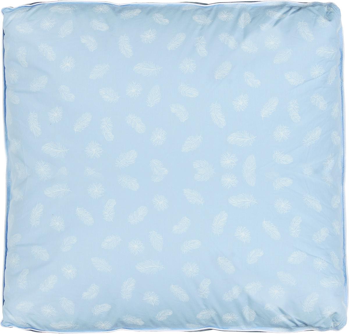 Подушка Легкие сны Донна, наполнитель: гусиный пух второй категории, 68 х 68 см подушка легкие сны sandman наполнитель гусиный пух категории экстра 50 х 68 см
