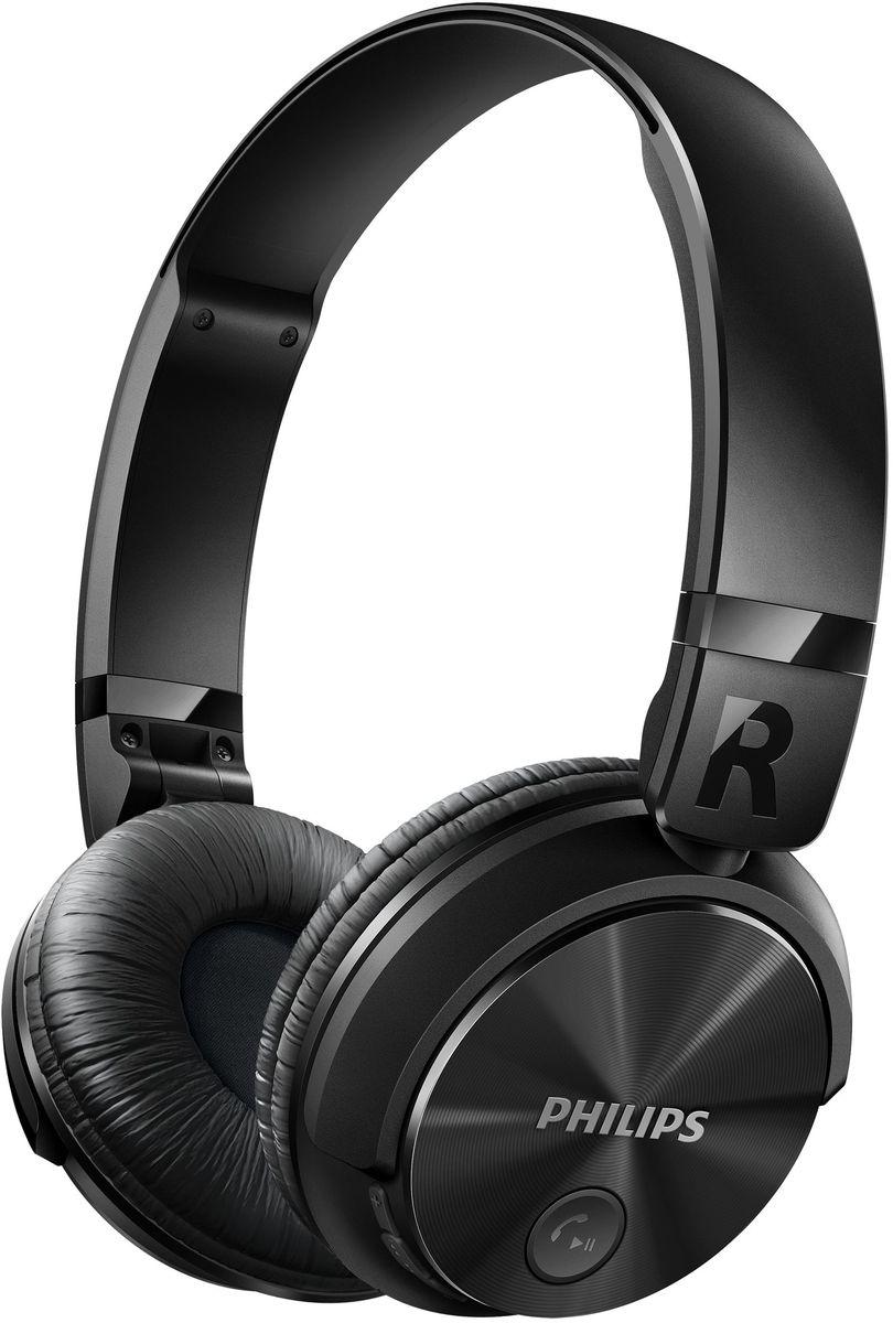 Philips SHB3080BK/00 Bluetooth-наушникиSHB3080BK/00На создание беспроводных наушников SHB3080 с возможностью подключения по Bluetooth Philips вдохновил дизайн DJ-наушников — модель создана специально для амбициозных творческих начинаний. Наслаждайтесь музыкой часами и с легкостью отвечайте на звонки благодаря продуманной компактной складной конструкции.Высокоинтенсивные 32-миллиметровые излучатели для воспроизведения чистых и мощных басов:Высокоинтенсивные 32-миллиметровые излучатели воспроизводят чистые и мощные басы.Технология Bluetooth для удобства и свободы от проводов:Выполните сопряжение наушников с любым устройством Bluetooth для наслаждения кристально чистым звуком без проводов.Закрытое акустическое оформление гарантирует надежную звукоизоляцию:Закрытое акустическое оформление гарантирует надежную звукоизоляцию, отсекая окружающие шумы.Плоская складная конструкция обеспечивает комфорт в дороге:Для обеспечения максимального комфорта при использовании в дороге эти наушники легко складываются, гарантируя удобство переноски и хранения.Мягкие дышащие амбушюры для комфорта при длительном прослушивании:Мягкие дышащие амбушюры обеспечивают комфорт при длительном прослушивании музыки.Беспроводное управление музыкой и вызовами:Просто выполните сопряжение смарт-устройства с наушниками через Bluetooth и наслаждайтесь кристально чистым звучанием при совершении вызовов и прослушивании музыки в беспроводном режиме.