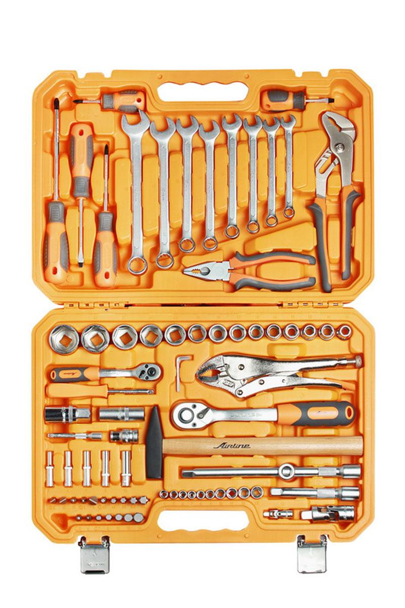 Набор инструментов Airline, универсальный, в пластиковом кейсе, 78 предметов
