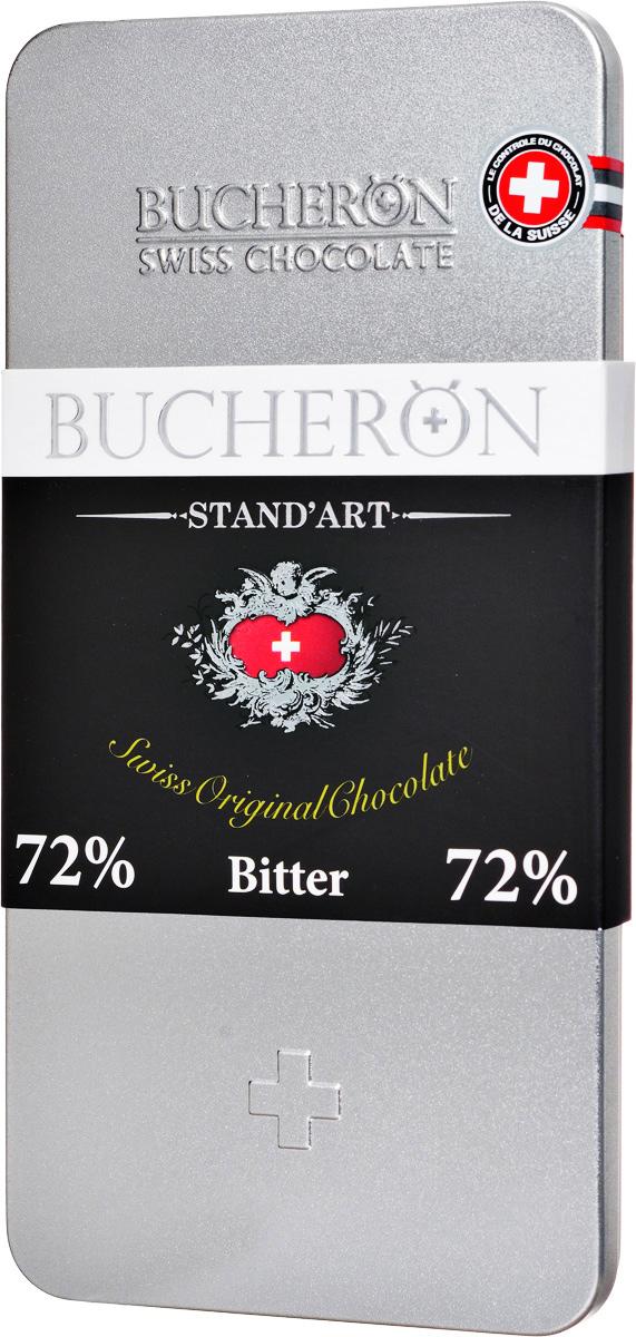 Buсheron Горький шоколад, 100 г молоко
