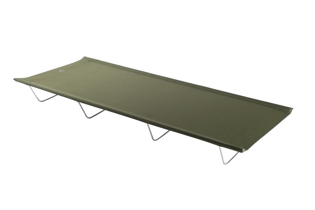 Раскладушка Trek Planet  Bivouac , кемпинговая, цвет: зеленый, 190 х 77 х 19,5 см - Складная и надувная мебель