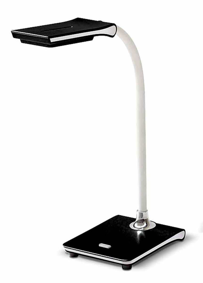 Настольная лампа Лючия Pegas, цвет: черный, 4 WЛЮЧИЯ L490 чернаяНастольная лампа Лючия L490 Pegas черная светодиодная 4W 4000K с USB разъемом.Гибкий штатив для оптимального направления света.USB-разъем 5В 500 мА.Цветовая температура света 4000К.