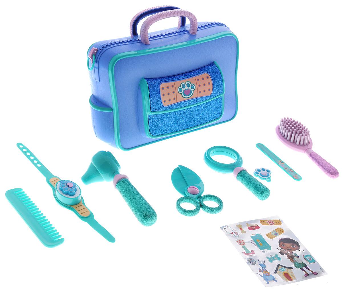 Доктор Плюшева Игровой набор Чемоданчик ветеринара гратвест игровой набор гратвест сачок и банка коллектора с приспособлениями