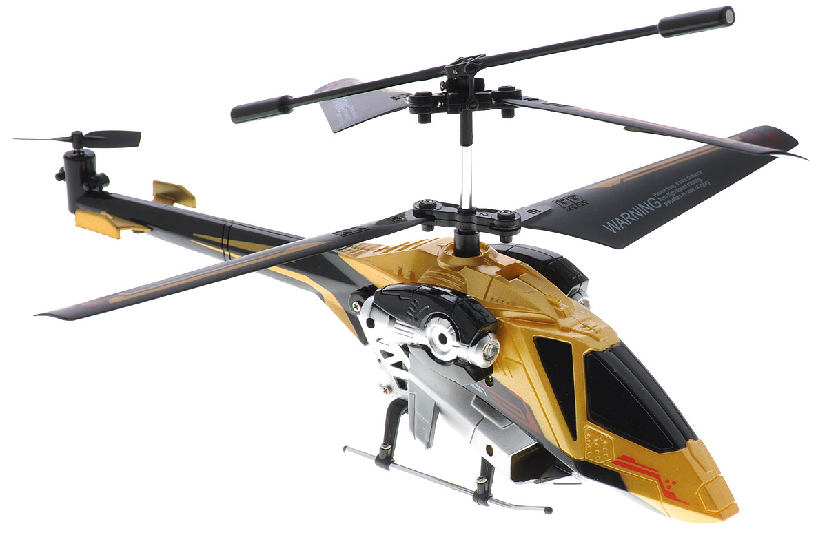 Auldey Вертолет на инфракрасном управлении Sky Rover цвет золотистый