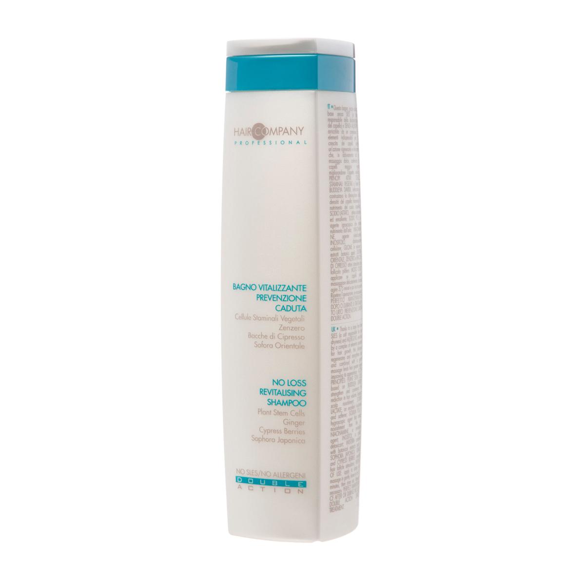 Hair Company Специальный шампунь против выпадения волос Double Action No Loss Revitalising Shampoo 250 мл weleda revitalising hair tonic