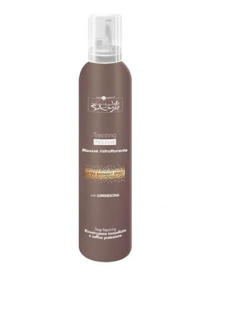 Hair Company Восстанавливающий мусс Professional Inimitable Style Treating Mousse 200 мл