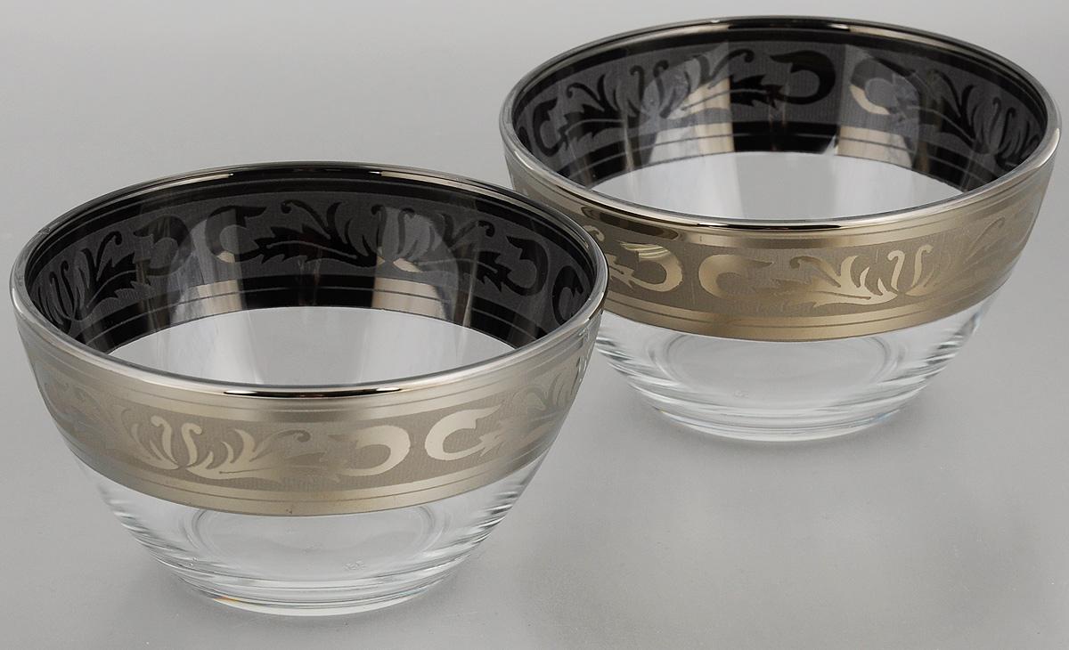 Набор салатников Гусь-Хрустальный Русский узор, диаметр 13 см, 2 штGE09-1542Набор Гусь-Хрустальный Русский узор, выполненный из высококачественного натрий-кальций-силикатного стекла, состоит из 2 глубоких салатников. Изделия оформлены красивым зеркальным покрытием и белым матовым орнаментом.Такие салатникипрекрасно подходят длясервировки различных закусок, подачи салатов из свежих овощей, фруктов и многогодругого.