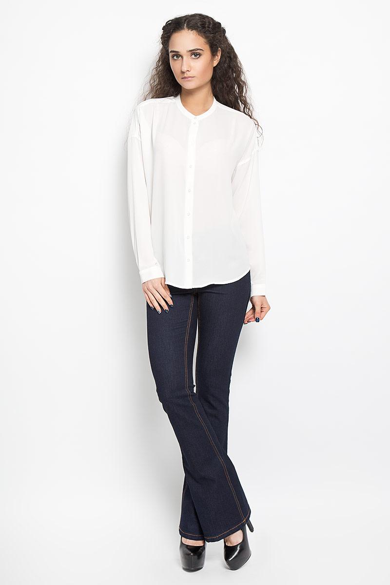 Купить Блузка женская Broadway Bentley, цвет: белый. 10156078 001. Размер M (46)