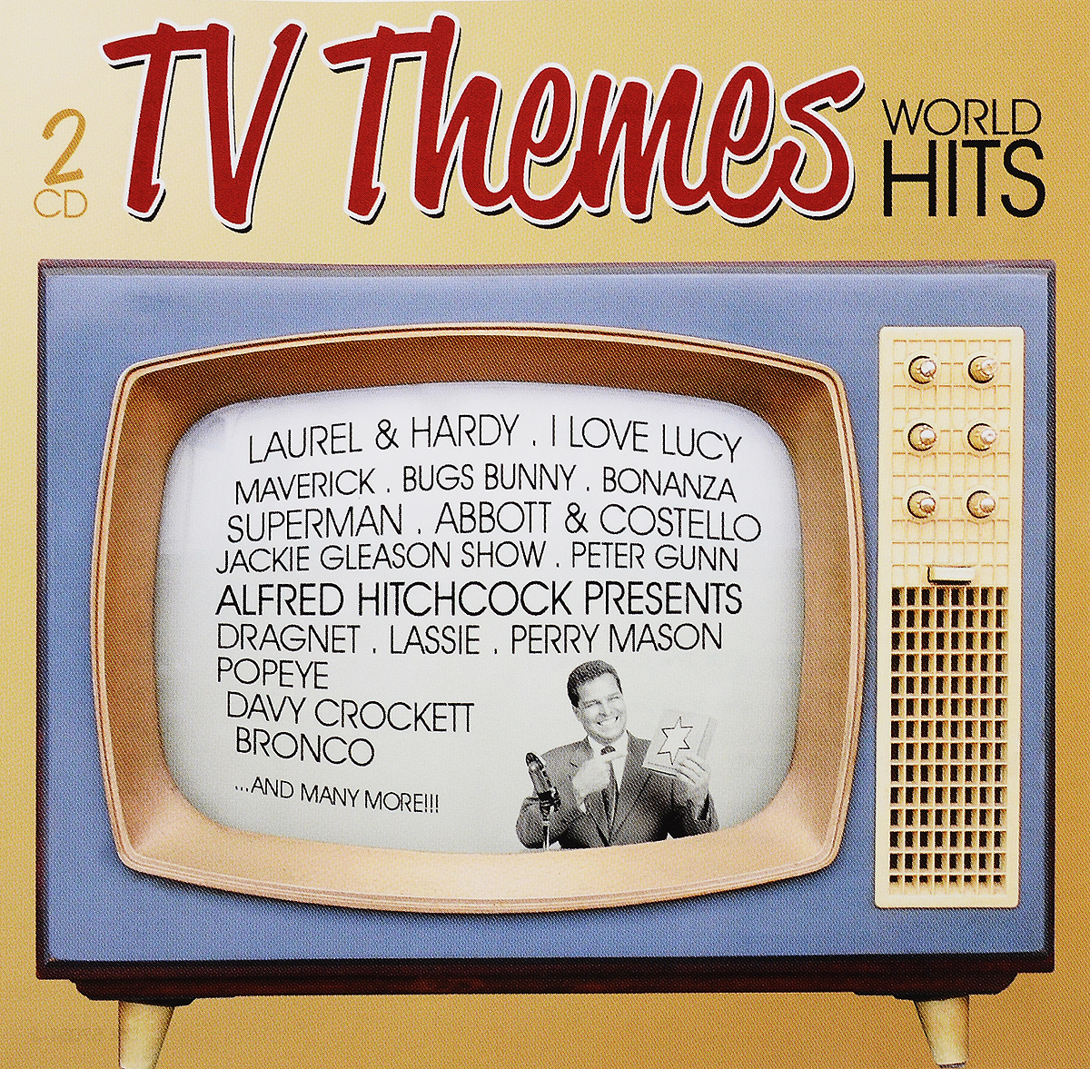 TV Themes World Hits (2 CD) массимо фарао piano world hits 2 cd