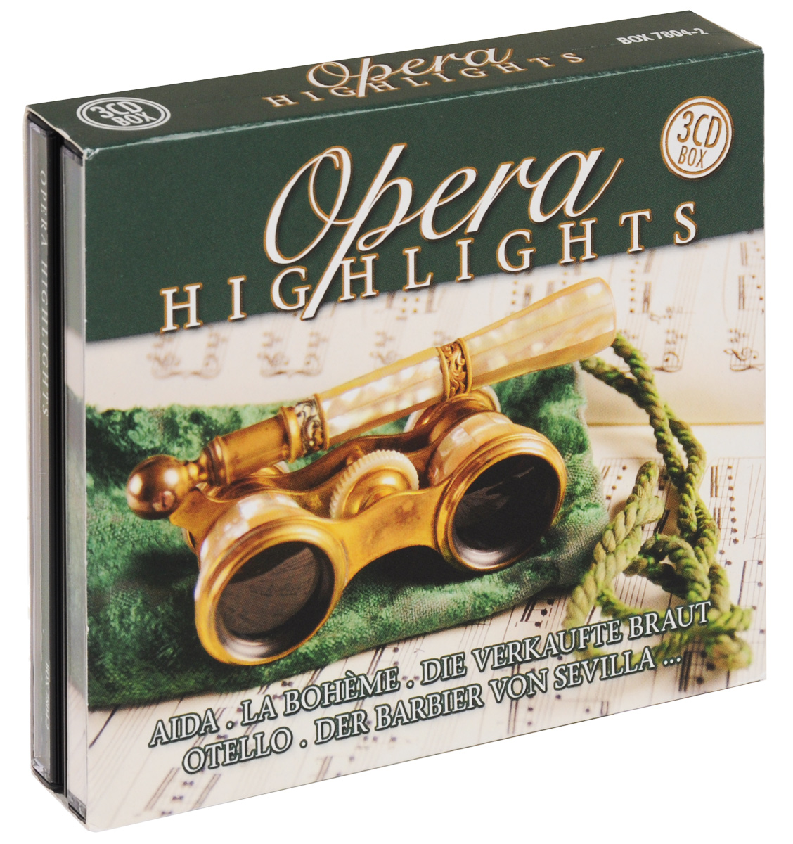 Opera Highlights (3 CD) brodway the musical highlights trilogy 3 cd