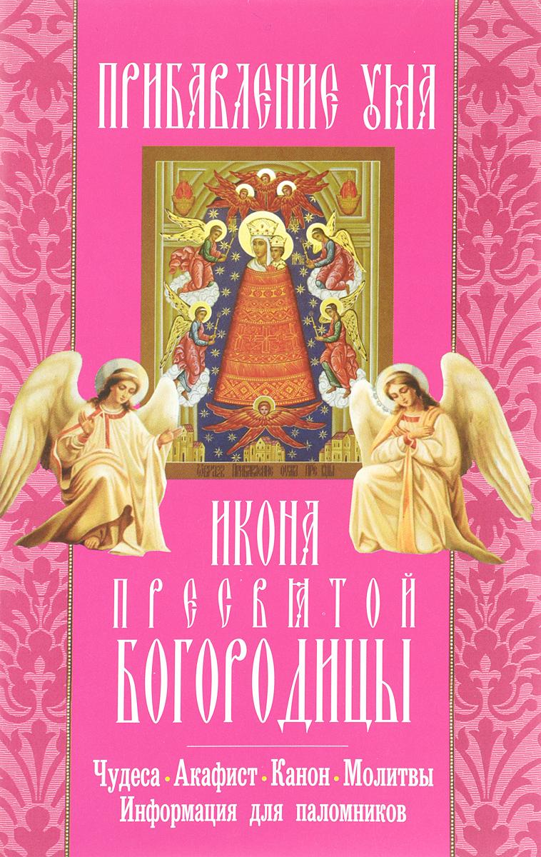 Прибавление ума икона Пресвятой Богородицы. Акафист, канон, молитвы, информация для паломников