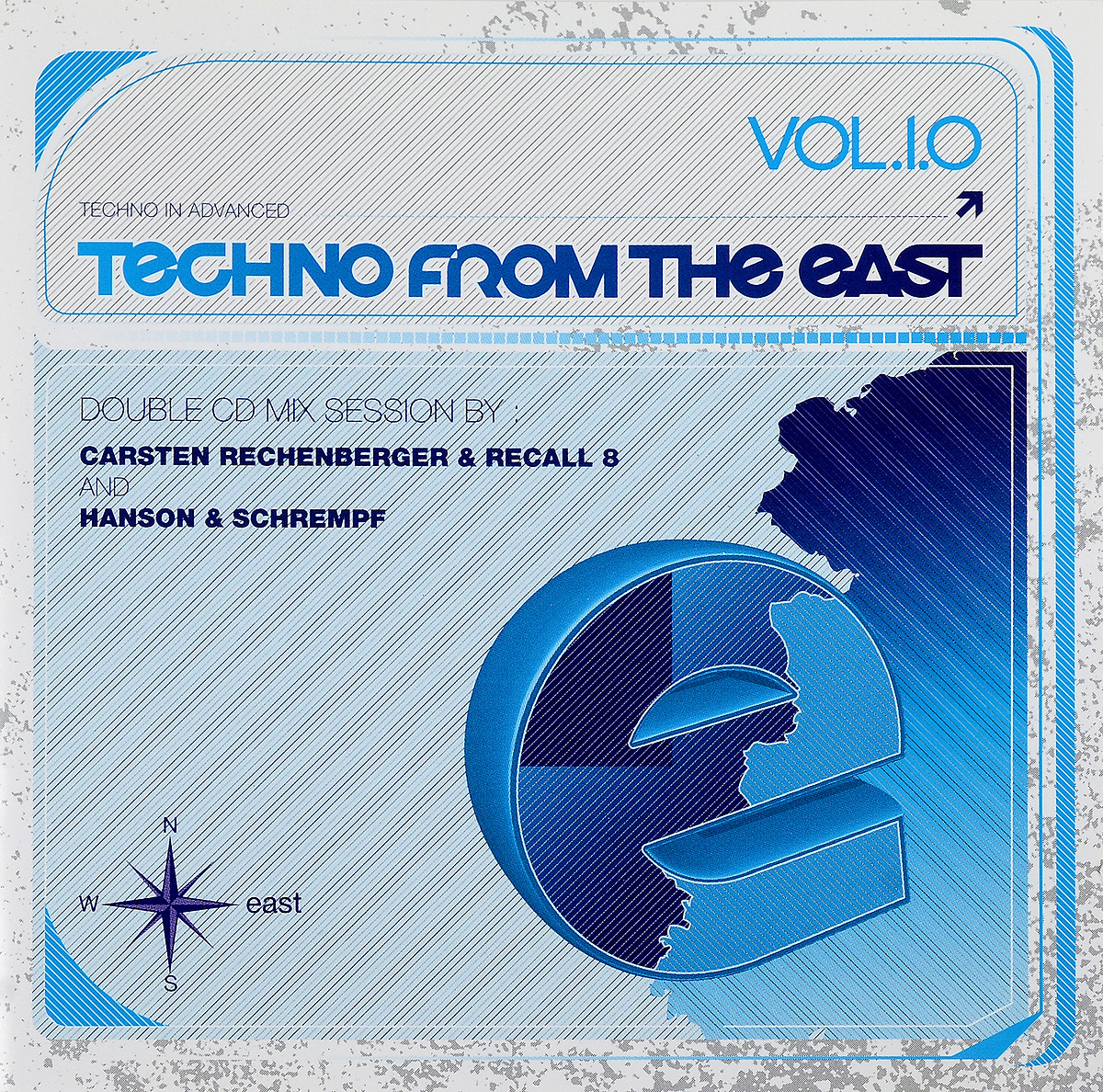 Techno From The East. Vol.1.0 (2 CD)