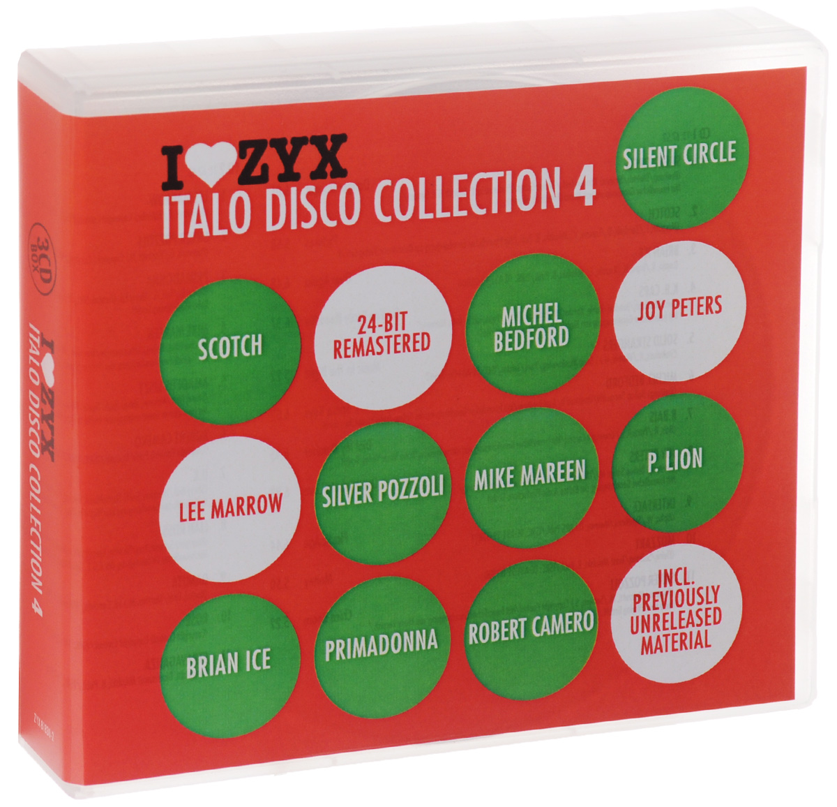Italo Disco Collection 4 (3 CD)