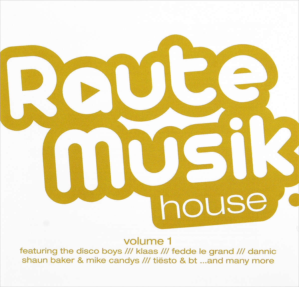 Raute Musik House. Volume 1 (2 CD)