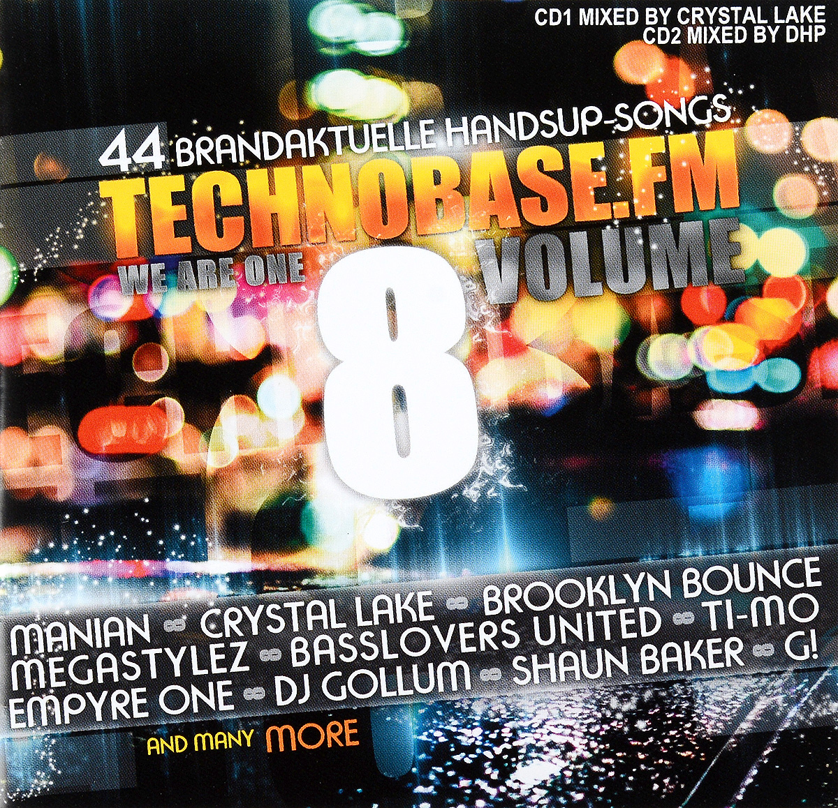 Crystal Lake,Brooklyn Bounce,Taya,DJ Ross,Marvin,Section 1,Leony!,Manian,X-Cess!,Combination,Lynch,Aacher,Level Zero,Tribune,Damn-R,Redtzer,Camera X,Roxor,Hardfader,Dancefloor Kingz Technobase.Fm. Volume 8 (2 CD) leather s dj amdition level 2 cd
