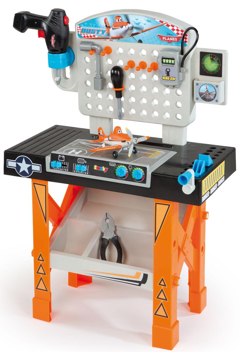 Smoby Игровой набор Ремонтная мастерская Самолеты smoby игровой набор для уборки с тележкой