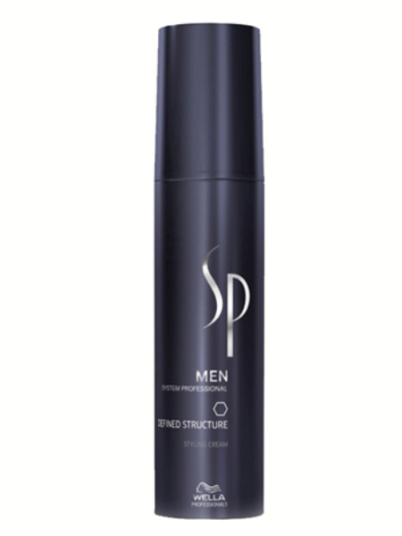 Wella SP Крем для текстуры и блеска Men Defined Structure, 100 мл wella sp молекулярный рефиллер repair liquid hair 100 мл