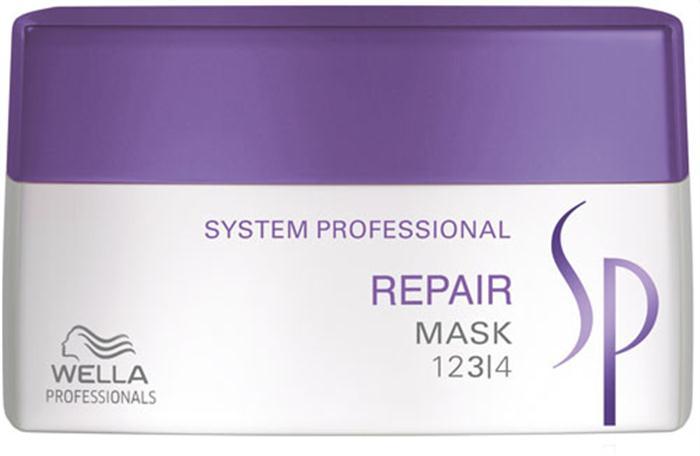 Wella SP Восстанавливающая маска Repair Mask, 400 мл81387595Восстанавливающая маска Wella SP Repair Mask представляет собой уникальный продукт, разработанный специально для интенсивного ухода за поврежденными волосами. Эксклюзивная формула RNP, лежащая в основе маски Велла, богата содержанием кератина и способствует интенсивному восстановлению структуры волос. Входящие в состав маски протеины растительного происхождения и масло ростков пшеницы мгновенно проникают внутрь каждого волоса, делая его более сильным и упругим.