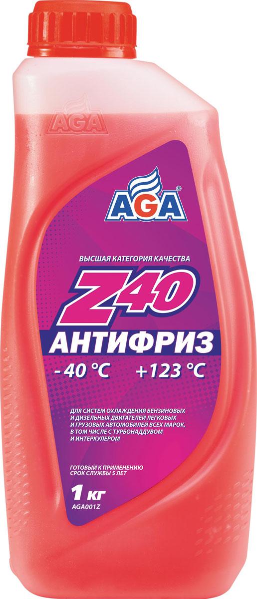 Антифриз AGA, готовый, цвет: красный, 1 кгAGA 001 ZАнтифриз AGA отличается повышенной проникающей способностью в микрорельеф охлаждаемых поверхностей, что улучшает теплоотвод, особенно при высоких нагрузках. Антифриз разработан с учетом требований: ASTM D 4985/5345; BMW N600 69.0; DaimlerChrysler DBL 7700.20; Audi, Porsche, Seat, Skoda, VW TL 774?F, type G-12+; Ford WSS–M97 B44–D, ТТМ АвтоВАЗ. Срок службы - до 5 лет, или 150 000 км пробега.Рабочий диапазон температур: от -40 до +123 °C.